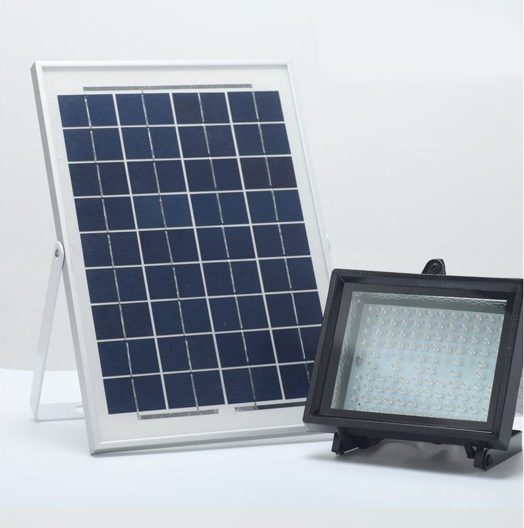 Commercial Solar Flood Lights Nz: Bizlander 10W 108 LED Solar Power Flood Light